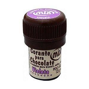 Corante p/ chocolate violeta 12grs unid