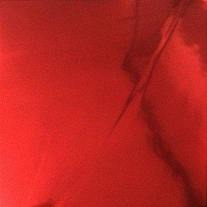 Saco metalizado 15x22 vermelho c/100 unids