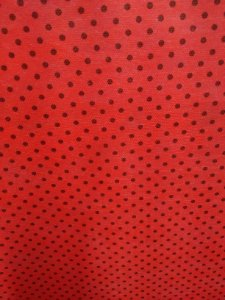 Tnt Póa vermelho Preto metro