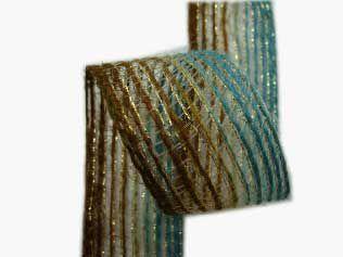 Fita Juta Metalizada (7368 cor 730) 38mmx10mts unid