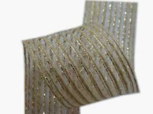 Fita Juta Metalizada (7520 cor 102) 20mmx10mts unid