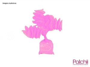 Rococo p/ bala  Rosa Choque c/40 unids  (consultar disponibilidade antes da compra)