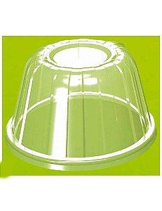 Tampa Cupúla Pote isopor 240/360/480ml (20HDLC) 25 unids