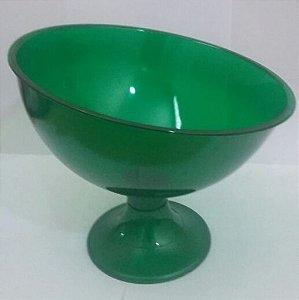 Taça Acrilica Inclinada Grande Cristal Verde unid (consultar disponibilidade antes da compra)