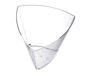 Copo Acrilico 45ml cristal 100pctx10unids