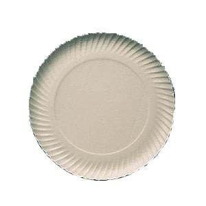Prato papelão branco nº 09 (32cm) c/ 100