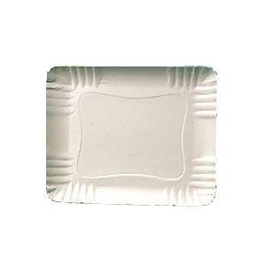 Bandeja Papelão Branca N°024 27cmx20cm 100 unids