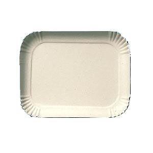 Bandeja Papelão Branca N°025 30cmx24cm 100 unids