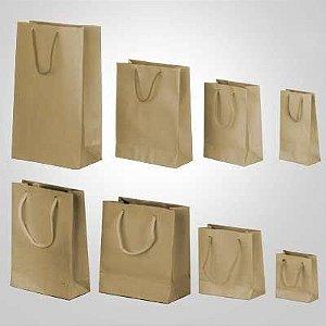 Sacola papel kraft 25x20x8 n°03 c/10 unids