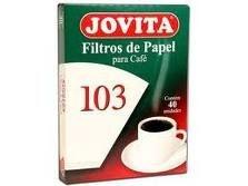 Filtro de papel Jovita 103 c/30