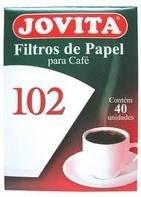 Filtro de papel Jovita 102 c/30