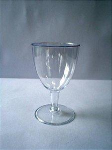 Taça Acrilica 180ml vinho c/5 unids