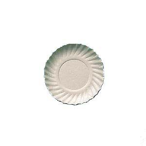 Prato papelão branco nº 03 (17cm) c/ 200