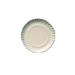 Prato papelão branco nº 04 (20CM) c/ 200