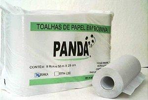 Toalha Bobina Polar Luxo Branca c/8