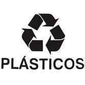 Adesivo Coleta Seletiva: Plásticos Unid