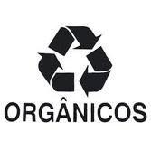 Adesivo Coleta Seletiva: Orgânicos Unid