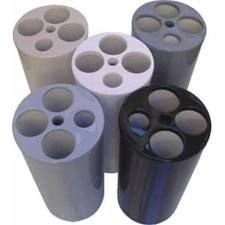 Dispensador Lixo Copo 5tubos (E16) JSN Preto unid