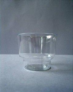 Copo Acrilico 60ml Cristal 10 unids