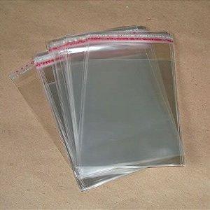 Saco Adesivados 15.5x20 c/100 unids (05cm aba)