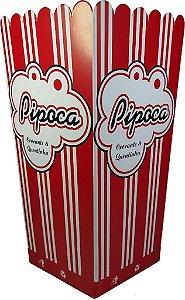 Caixa p/ Pipoca Media (mega) c/10 unids (consultar disponibilidade antes da compra)