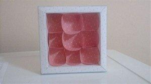 Embalagem forma papel cartao petalas c/09 unids