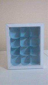 Embalagem forma papel cartao petalas c/12 unids