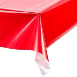 Toalha perolada 80x80 Vermelha c/ 100 unids