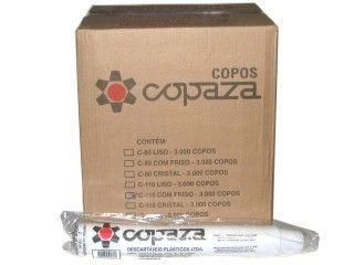 Copo Descartavel 150ML Copaza translucido 2500 unids