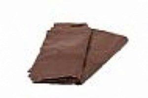 Saco lixo 15lts Marrom (0,7) c/100 unids