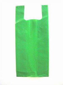 sacola grossa 50x70 Verde 1kg