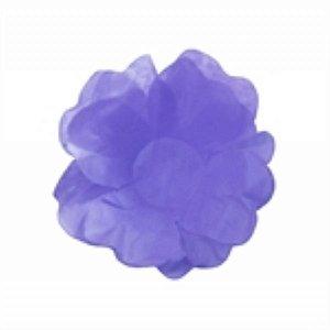 Forma Papel Seda Flor Lilás c/40unids (consultar disponibilidade antes da compra)