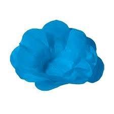 Forma Papel Seda Flor Azul Claro c/40 unids (consultar disponibilidade antes da compra)