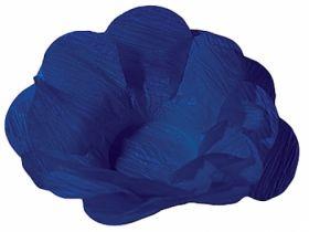 Forma Papel Seda Flor Azul Escuro c/40 unids (consultar disponibilidade antes da compra)
