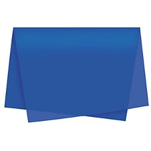 Papel Seda Azul Royal c/ 100 unids
