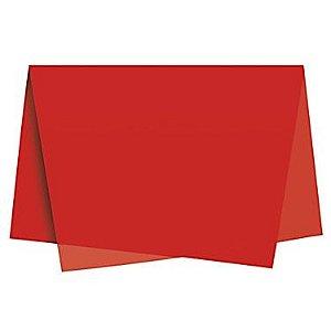 Papel Seda Vermelho c/ 100 unids