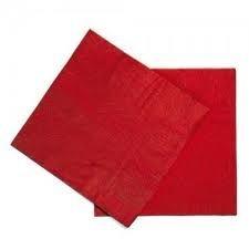 Guardanapo 33x33 Vermelho Fl Dupla 20 unids (consultar disponibilidade na loja)