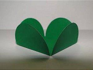 Forma Papel Cartão Petalas Verde Escuro c/50 unids (consultar disponibilidade antes da compra)