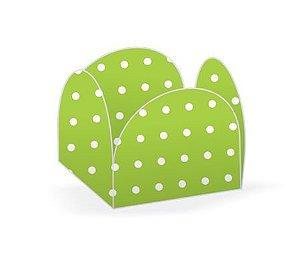 Forma Papel Cartão Petalas Poá Verde Limão c/50 unids (consultar disponibilidade antes da compra)