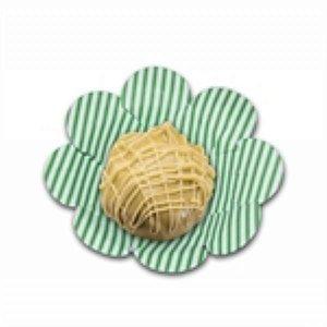 Forma Papel Cartão Flor Listras Verde c/50 unids (consultar disponibilidade antes da compra)