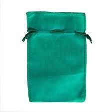 Saco Tnt 50x70 Verde c/cordao unid (consulte disponibilidade na loja)