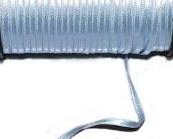 Fita Cetim nº0 Azul Claro (4mm) 100mts unid (consulte disponibilidade na loja)