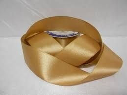 Fita Cetim nº03 Dourada (15mm) 10mts unid (consultar disponibilidade na loja)