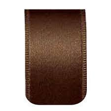 Fita Cetim nº01 Marrom (7mm) 10mts unid (consultar disponibilidade na loja)