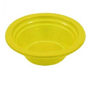 Cumbuca Plastica Pf12cm Amarela Trik Trik c/10 unids