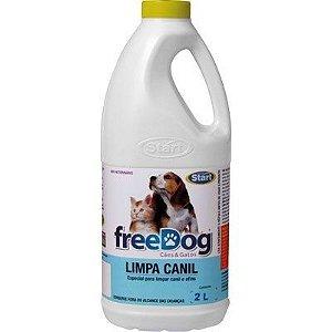 Free Dog Limpa Canil 2lts unid