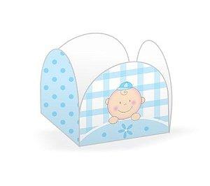 Forma Papel Cartão Petalas Baby Menino c/50 unids