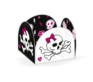Forma Papel Cartão Petalas Skull Girls c/50 unids (consultar disponibilidade antes da compra)
