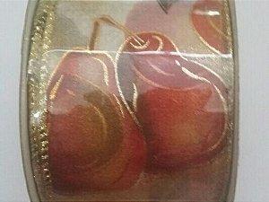 Fita Natal (Peras Ouro) 6cmx10mts