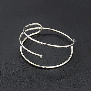 Bracelete com zircônia